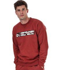 mens rival fleece camo sweatshirt