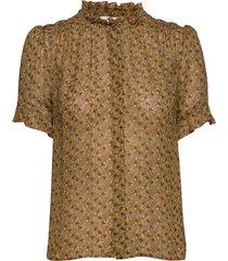 rosella shirt aop 9695 blouses short-sleeved samsøe samsøe