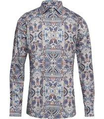 ancient paisley print twill shirt skjorta business multi/mönstrad eton