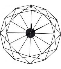 zegar geometryczny zegar metalowy 60 cm