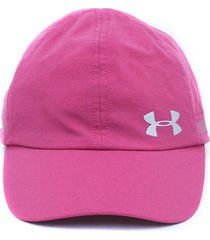 gorra rosado under armour fly by cap