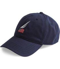 nautica men's logo baseball cap