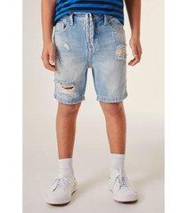 bermuda jeans infantil reserva mini espelho masculino
