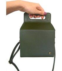 bolso cubeto verde songosorongo