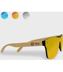 okulary przeciwsłoneczne drewniane diabełek
