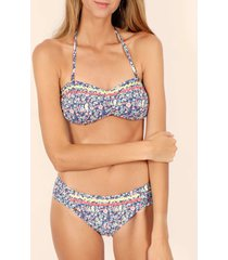 bikini admas 2-delige meerkleurige liberty bandeau bikiniset adma's