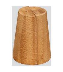 amaro feminino oikos saleiro e pimenteiro, bambu