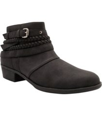 sugar women's tik tock ankle booties women's shoes