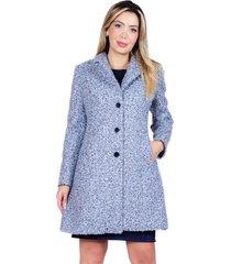 abrigo bellisima gris bellisima