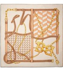 b-chain carré brown 1