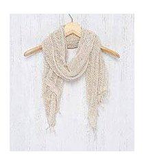 cotton shawl, 'breeze of nature' (thailand)