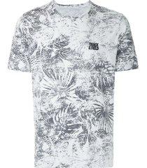 track & field beach coolcotton printed t-shirt - white