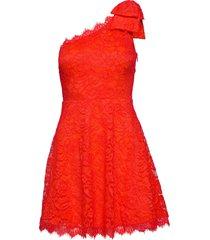 celia dress kort klänning röd guess jeans