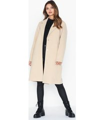 nly trend easy straight coat kappor