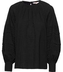 emma top caviar blouse lange mouwen zwart levi´s women