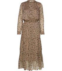 dress knälång klänning brun sofie schnoor