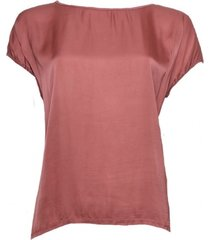 20 to 56-3 067 shirt uni rosa rood