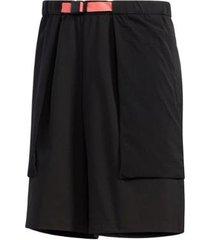 shorts tech fabric mix woven adidas - masculino