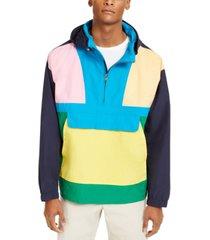 club room men's skate prep anorak jacket, created for macy's