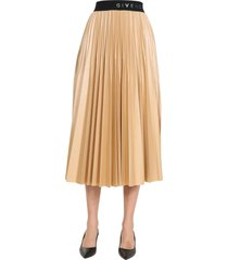 givenchy pleated skirt