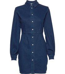 berthe dress 11492 kort klänning blå samsøe samsøe