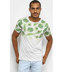 camiseta gajang nature degradê masculina - masculino