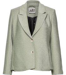 utopio blazer blazers casual blazers grön just female
