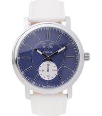 reloj blanco perla-plateado versace 19.69