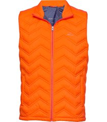 d1. the light down gilet vest oranje gant