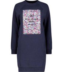 urban print jumper dress
