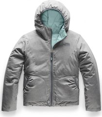chaqueta reversible perrito gris the north face