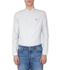 ami alexandre mattiussi regular fit shirt