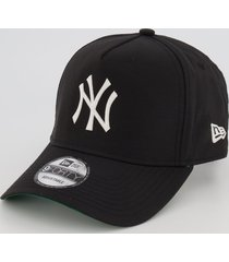 boné new era mlb new york yankees preto e verde