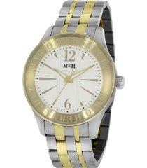 reloj  mtrj1006-oroclaroplata