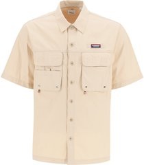 burberry haggersgate short-sleeved shirt