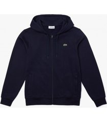 lacoste vest men sh1551 hooded sweatshirt navy-
