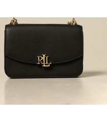 lauren ralph lauren crossbody bags lauren ralph lauren shoulder bag in grained leather
