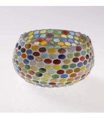 cachepot mosaico- pashmina- cachepot mosaico- colorido