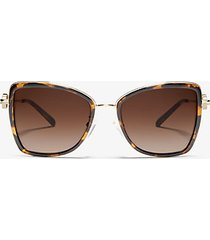 mk occhiali da sole corsica - tartaruga (marrone) - michael kors