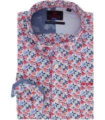 nza new zealand overhemd mckerrow rood blauw