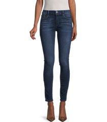 joe's jeans women's mid-rise skinny jeans - pasadena - size 26 (2-4)