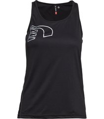 core coolskin singlet t-shirts & tops sleeveless svart newline
