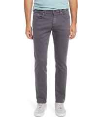 mavi jeans men's marcus slim straight leg jeans, size 34 x 30 in india ink supermove colored at nordstrom