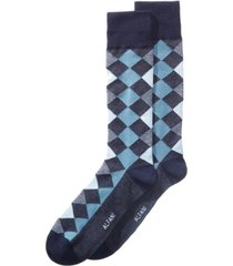 alfani men's diamond dress socks, created for macy's