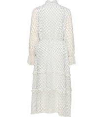 liv dress knälång klänning vit twist & tango