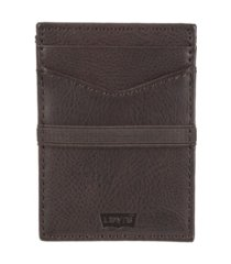 levi's men's rfid slim front pocket card case