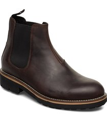 bruce shoes chelsea boots brun vagabond