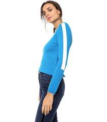 sweater azul nano eunice