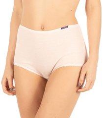calcinha cintura alta rosa cristal - 488.023 marcyn lingerie alta rosa