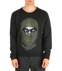 maglione maglia uomo girocollo kanye mask
